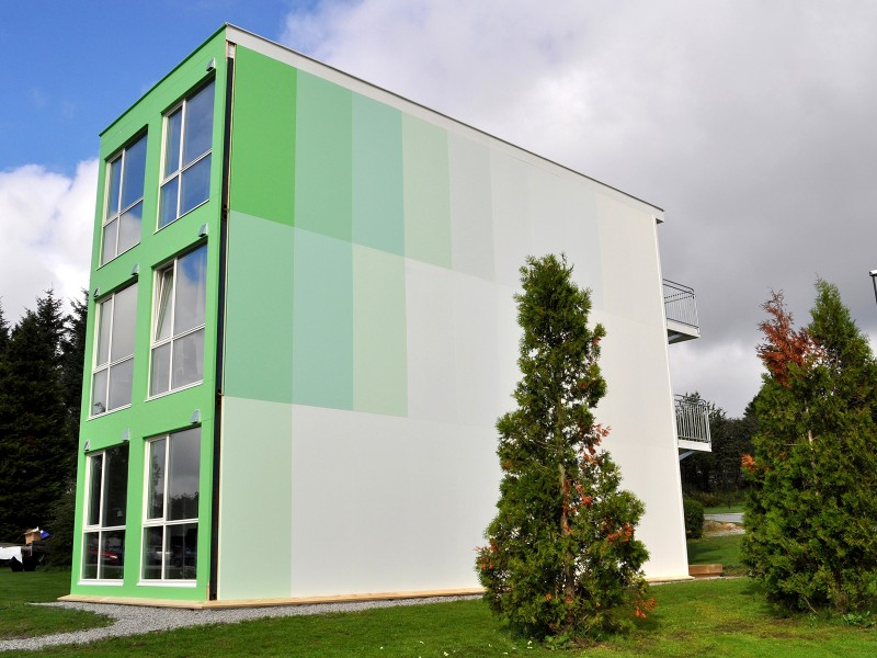 Accoya® and Tricoya® cladding used in residential construction innovation