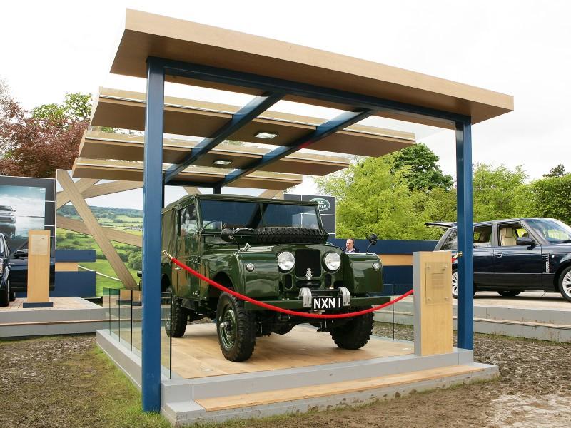Medite Tricoya for Exterior car displays at Royal Windsor Horse Show